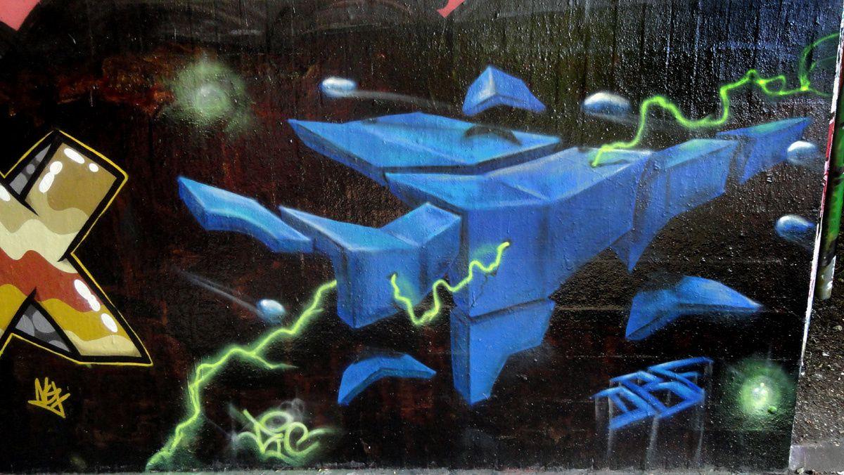 Street Art : Graffitis & Fresques Murales 47137 Duisburg