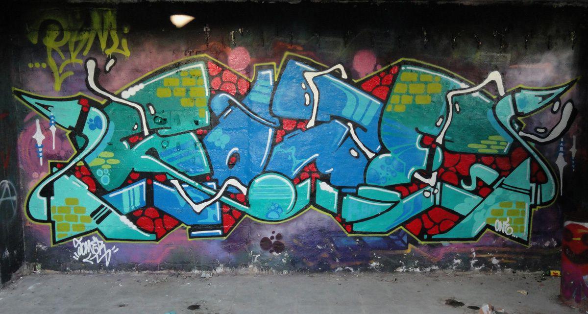 Street Art : Graffitis & Fresques Murales 8500 Kortrijk (Belgique)
