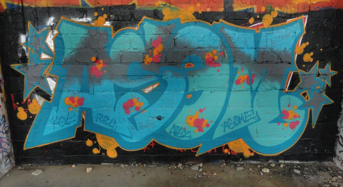 Street Art : Graffitis & Fresques Murales 14167 Colombelles