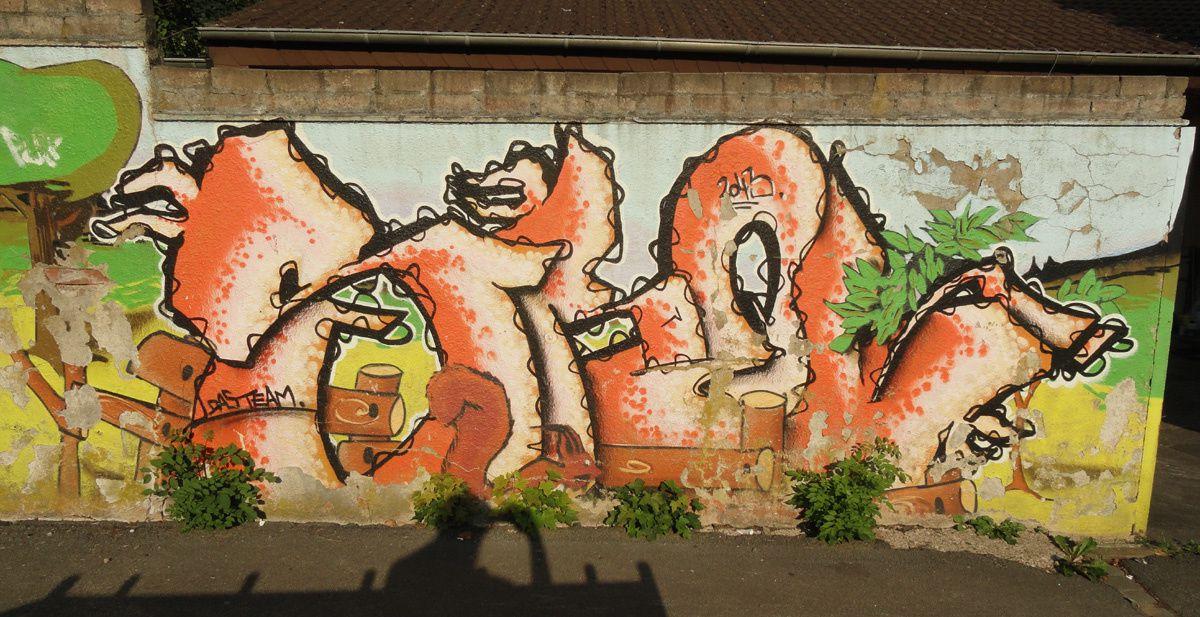 Album - Graffitis Allemagne Tom 002