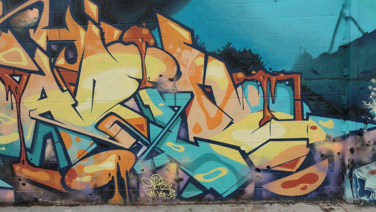 Street Art : Graffitis & Fresques Murales 14337 Mondeville