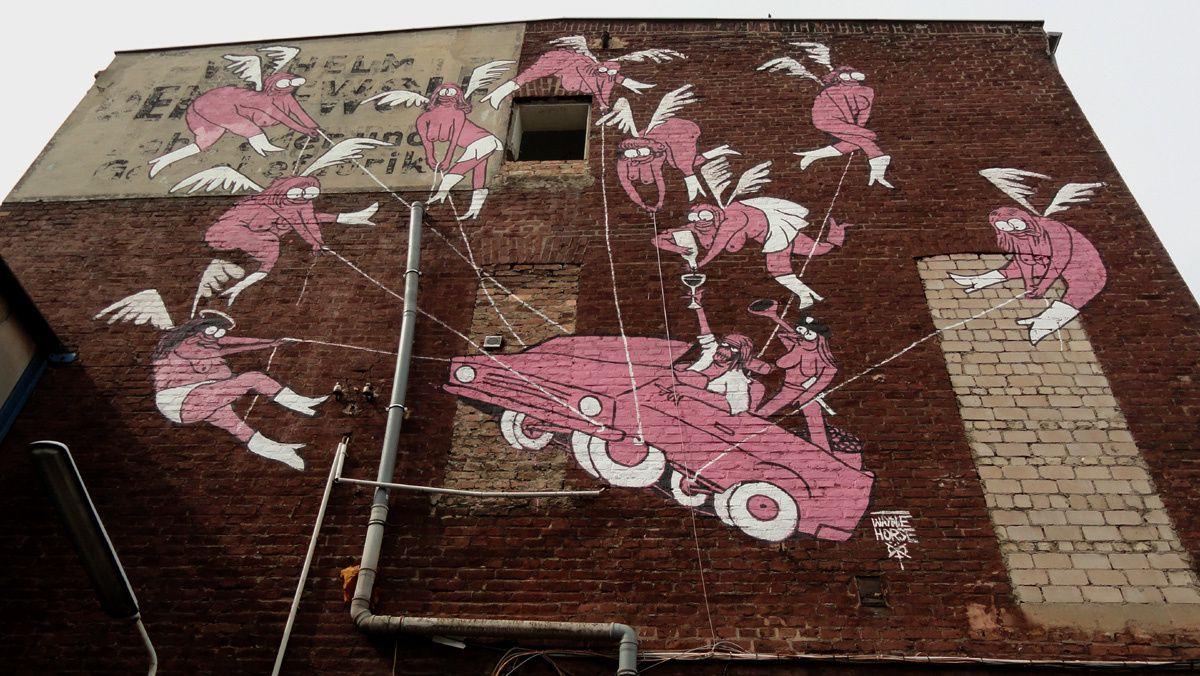 Street Art : Graffitis & Fresques Murales 50825 Koln (Germany)