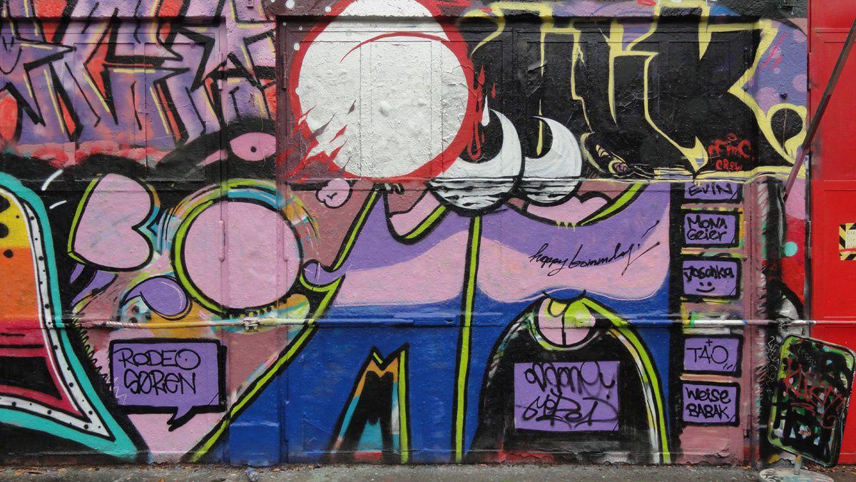 Street Art : Graffitis & Fresques Murales 50670 Koln (Germany)
