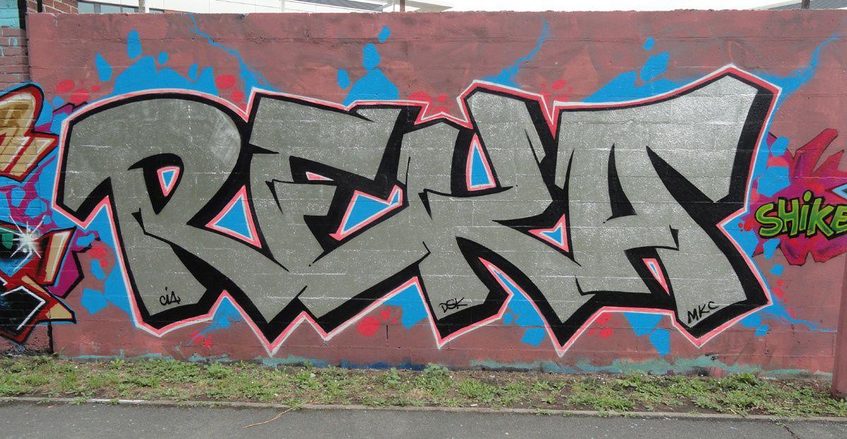 Street Art : Graffitis & Fresques Murales 92036 Gennevilliers