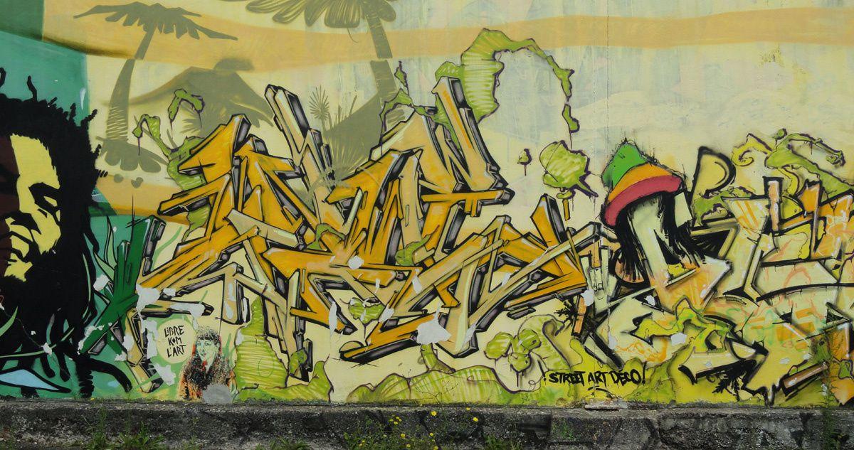 Street Art : Graffitis & Fresques Murales 14327 Hérouville saint clair