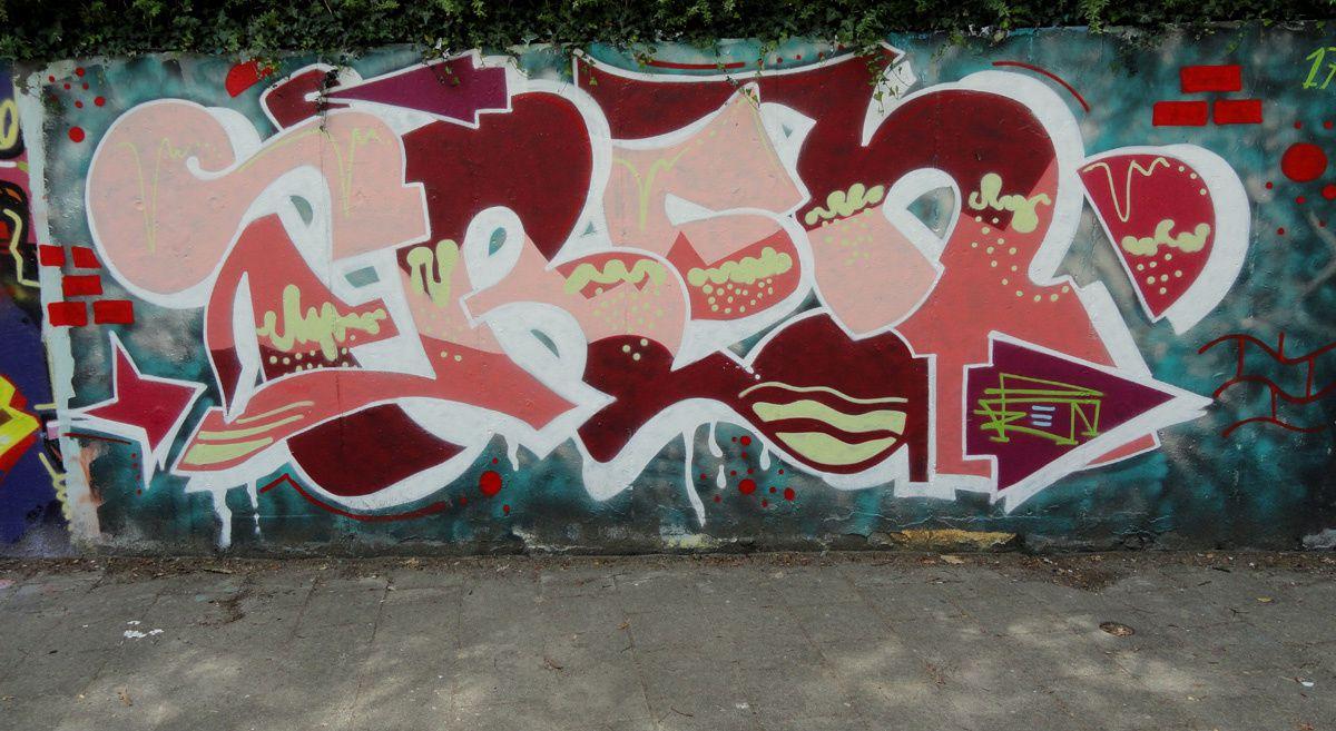 Street Art : Graffitis & Fresques Murales 5042 Tilburg (Pays Bas)