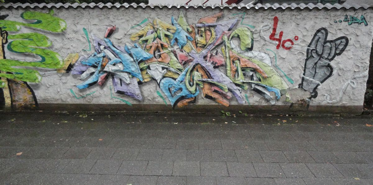 Street Art : Graffitis & Fresques Murales 40239 Dusseldorf