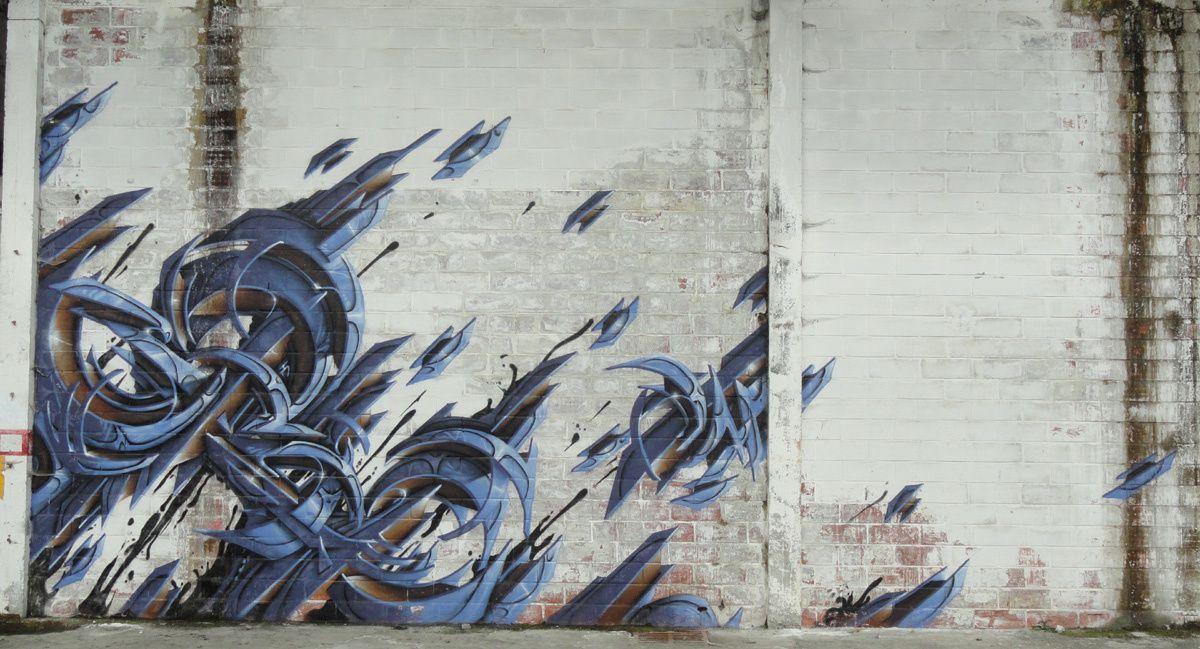 Street Art : Graffitis & Fresques Murales 65258 Lannemezan