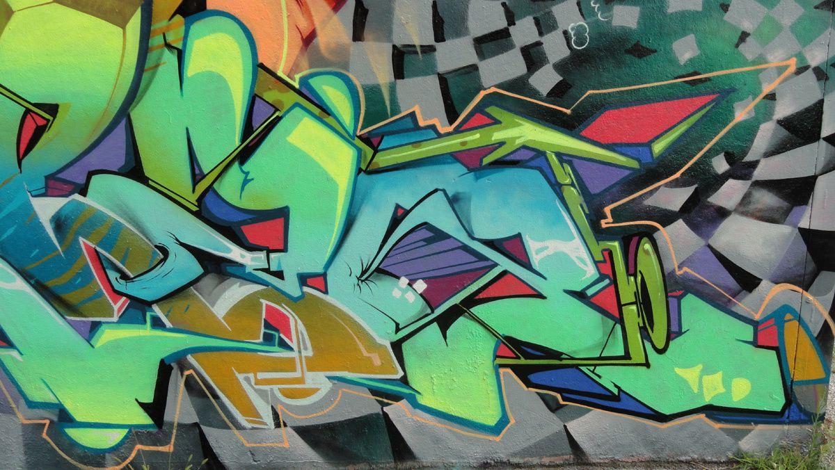 Street Art : Graffitis & Fresques Murales 31100 Toulouse