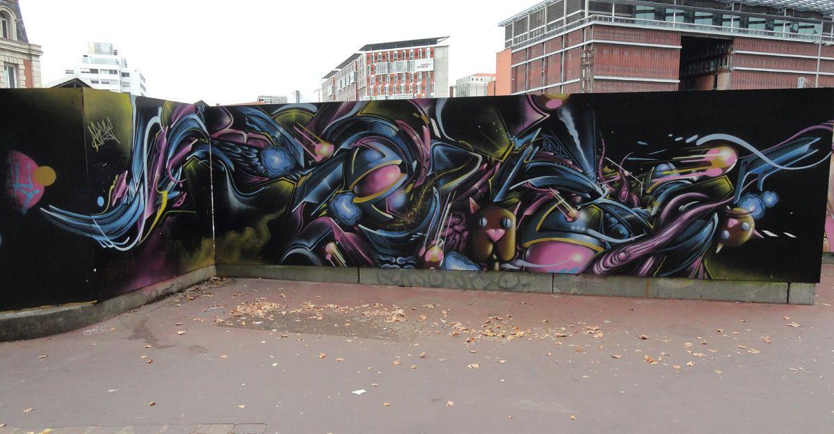 Street Art : Graffitis & Fresques Murales 31079 Toulouse