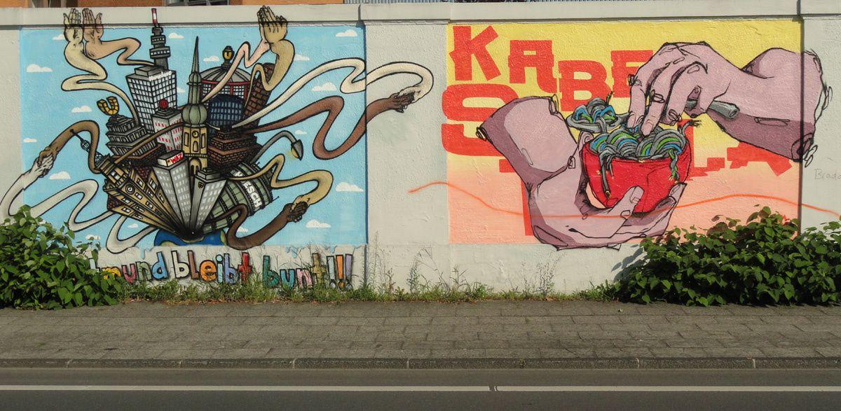 Street Art : Graffitis & Fresques Murales 44143 Dortmund