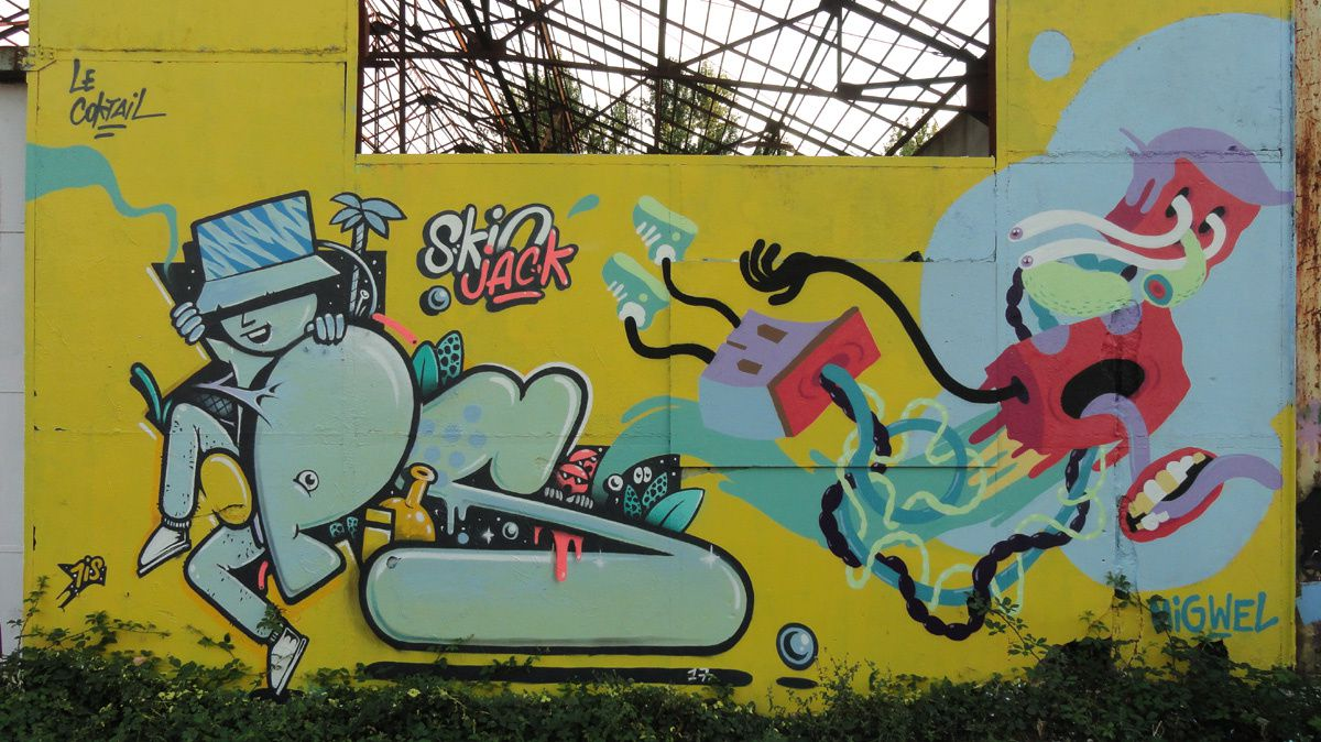 Street Art : Graffitis & Fresques Murales 33100 Bordeaux