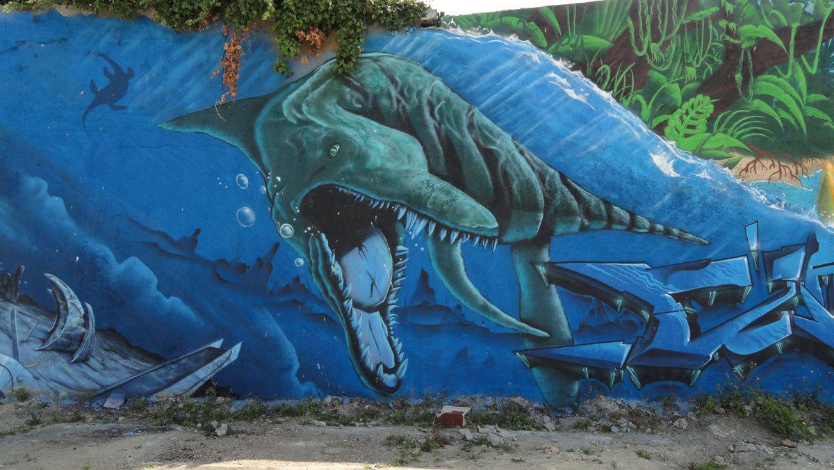 Street Art : Graffitis & Fresques Murales 56121 Lorient