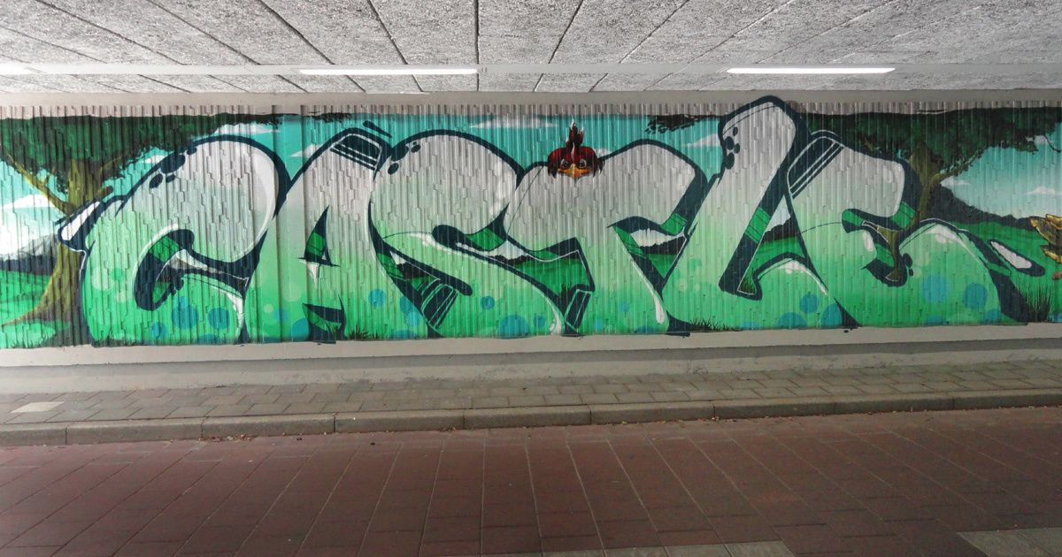 Street Art : Graffitis & Fresques Murales 5617 Eindhoven