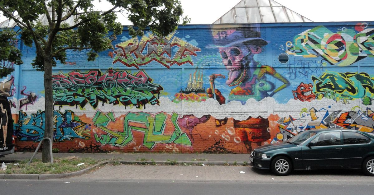 Album - Graffitis Allemagne Tom 005