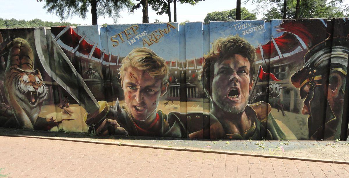 Street Art : Graffitis & Fresques Murales 5613 Eindhoven