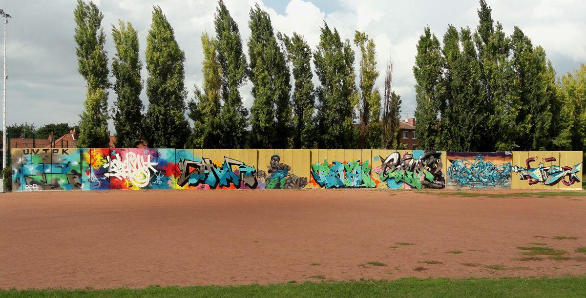 Street Art : Graffitis & Fresques Murales 62498 Lens