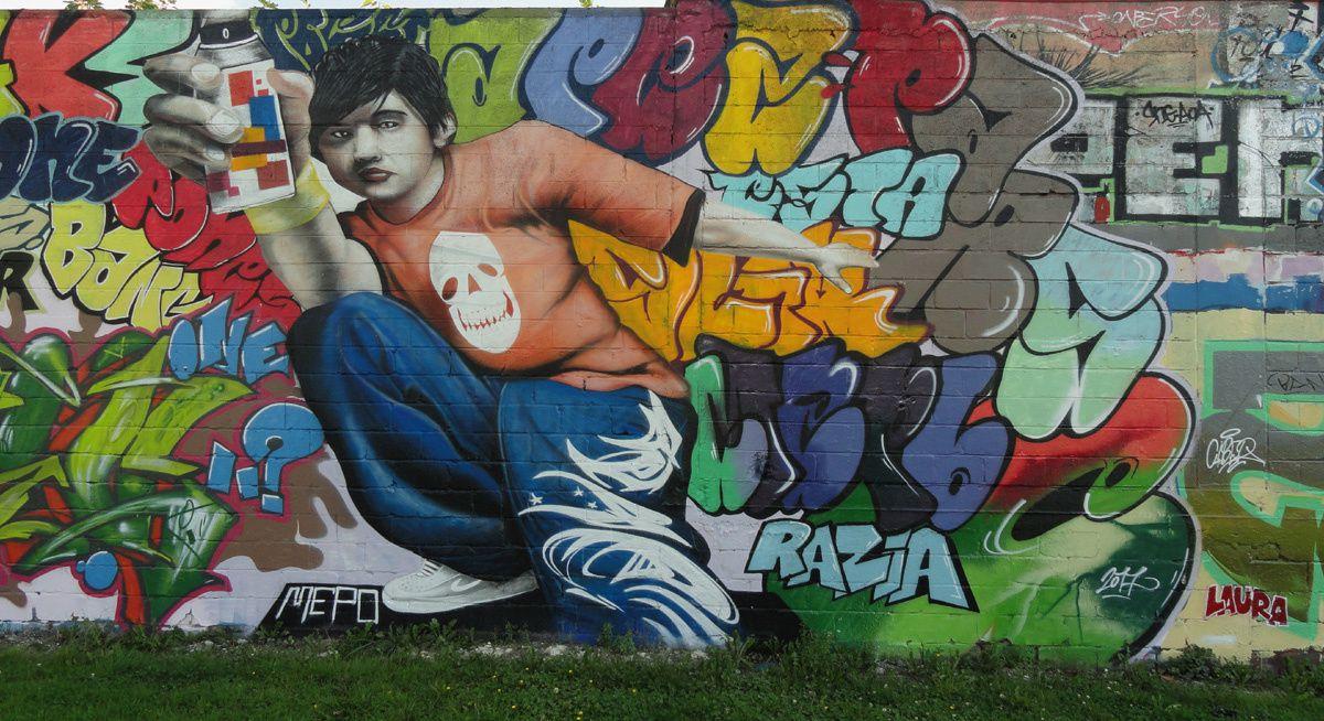 Street Art : Graffitis & Fresques Murales 62523 Loison-sous-lens