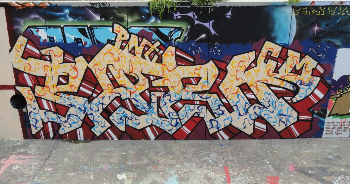 Street Art : Graffitis & Fresques Murales 34172 Montpellier