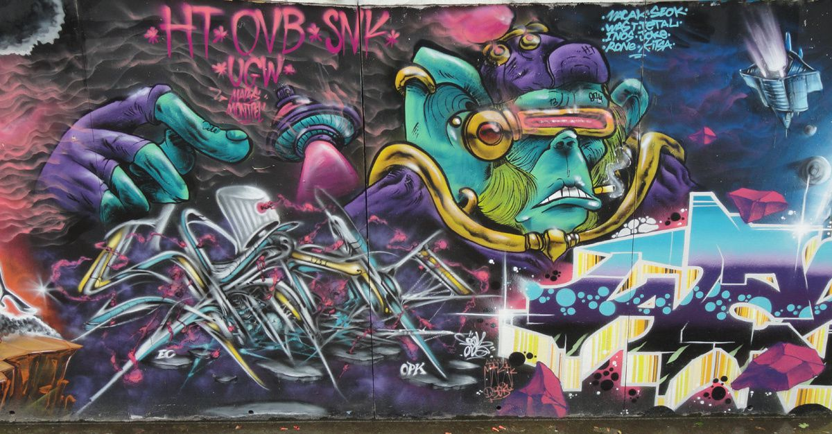 Album - Graffitis Dept 34 Tom 002