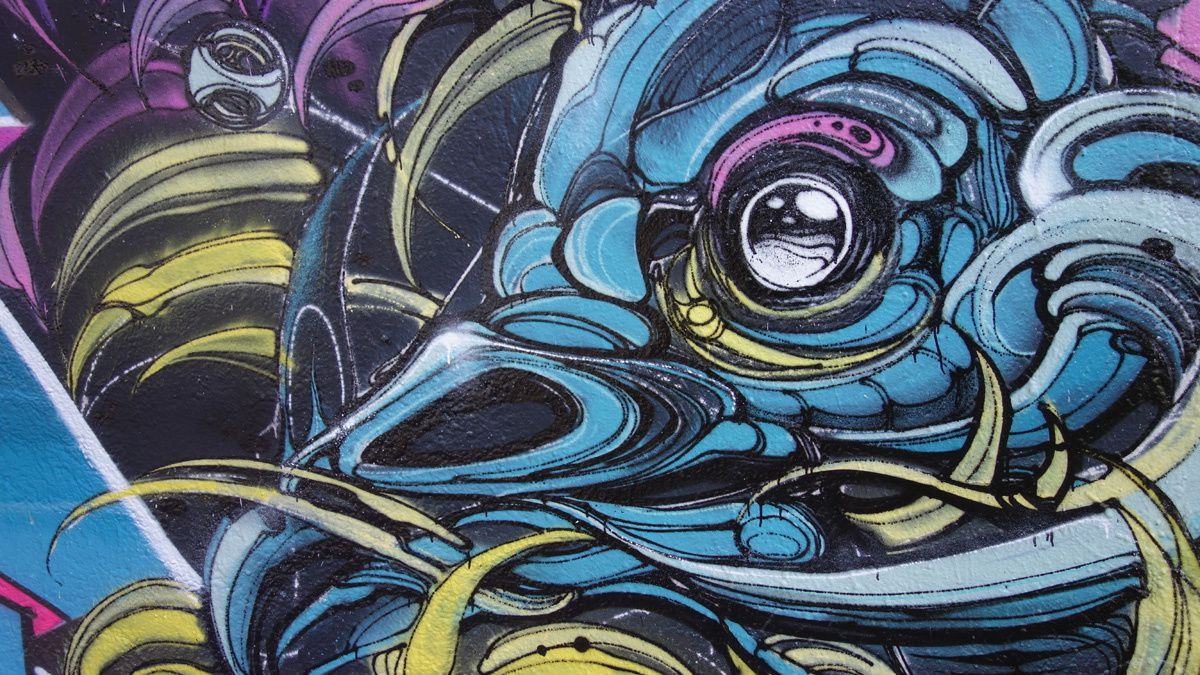 Street Art : Graffitis & Fresques Murales 95127 Cergy