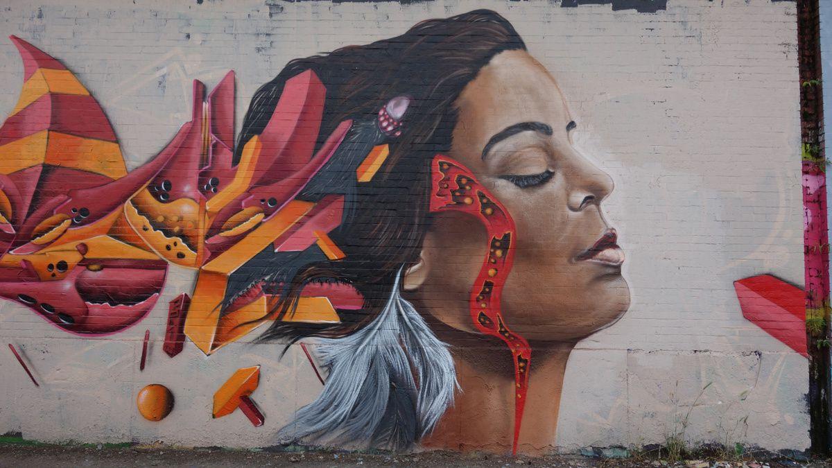 Street Art : Graffitis & Fresques Murales 6030 Charleroi (Belgique)