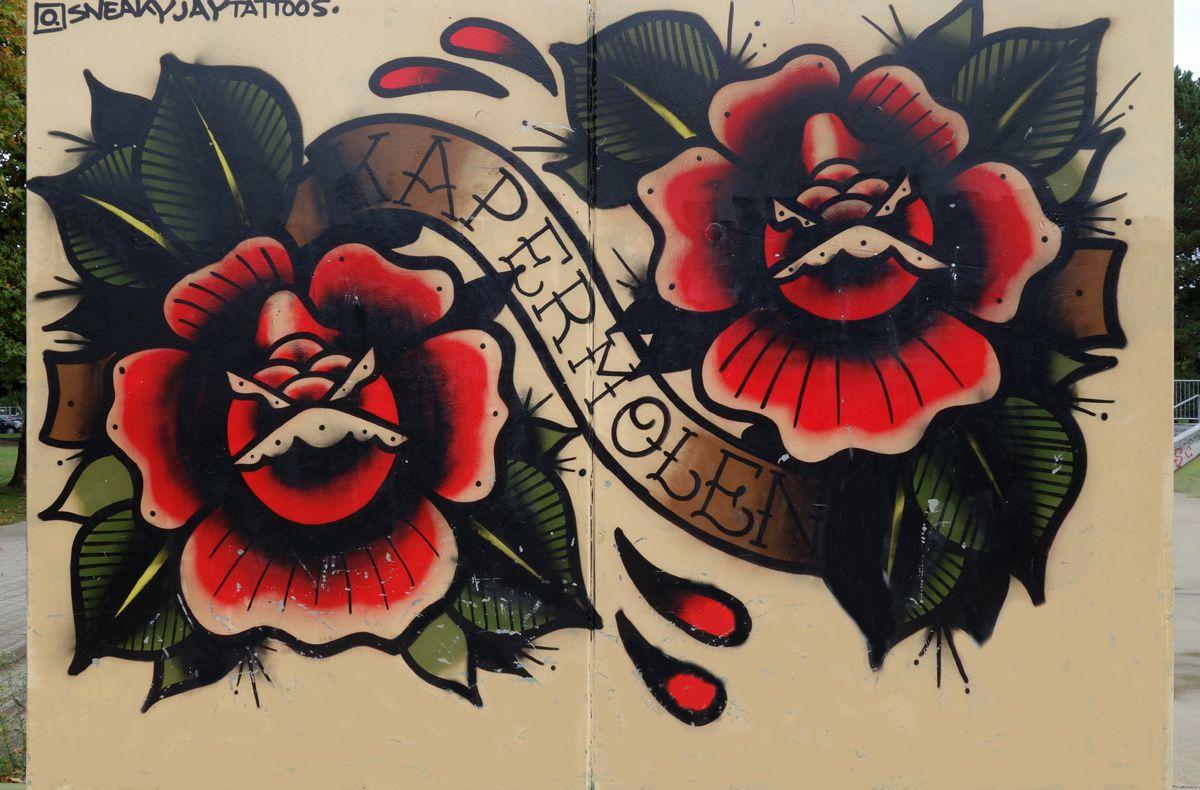 Street Art : Graffitis & Fresques Murales 3500 Hasselt (Belgique)