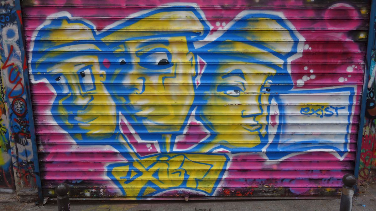 Album - Graffitis Paris Tom 060
