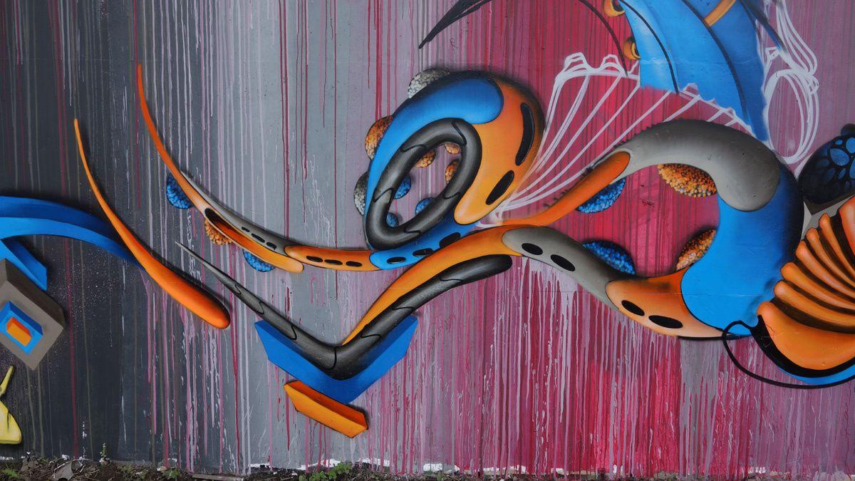 Street Art : Graffitis & Fresques Murales 6000 Charleroi (Belgique)