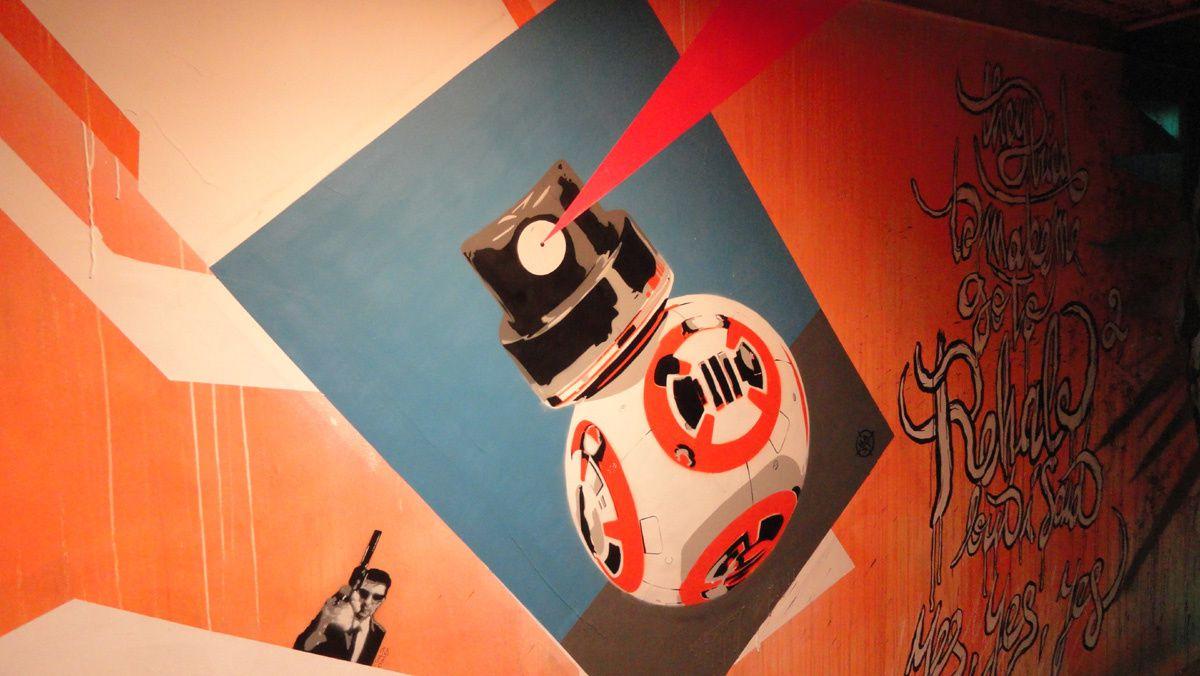 Street Art : Graffitis & Fresques Murales Exposition Rehab 75014 Paris