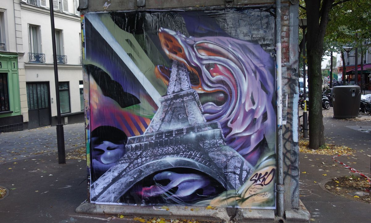 Album - Graffitis Paris Tom 063