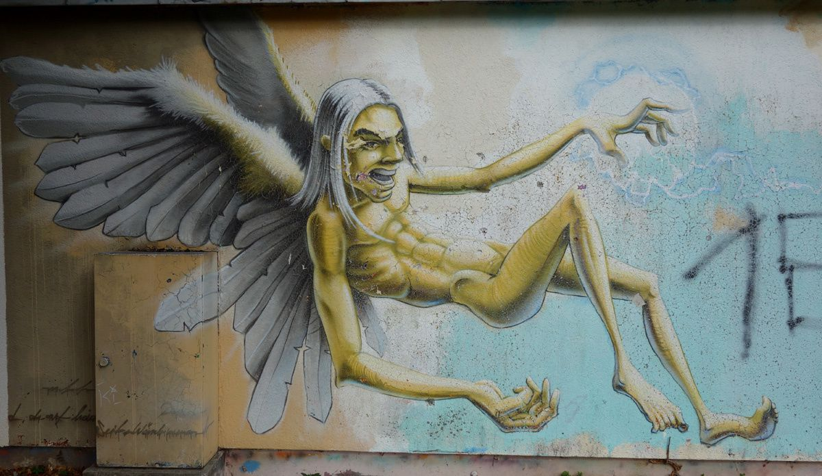 Street Art : Graffitis & Fresques Murales 76189 Karlsruhe (Germany)