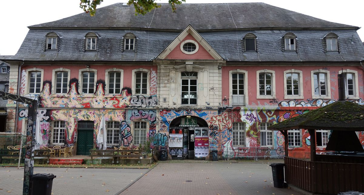 Street Art : Graffitis & Fresques Murales 54292 Trier (Germany)