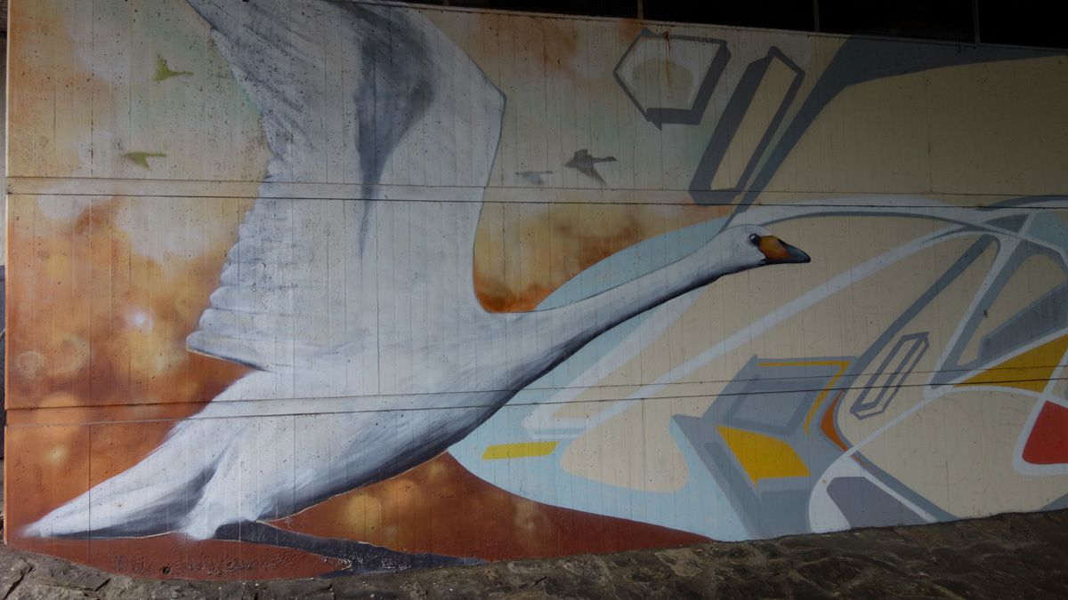 Street Art : Graffitis & Fresques Murales 54290 Trier (Germany)