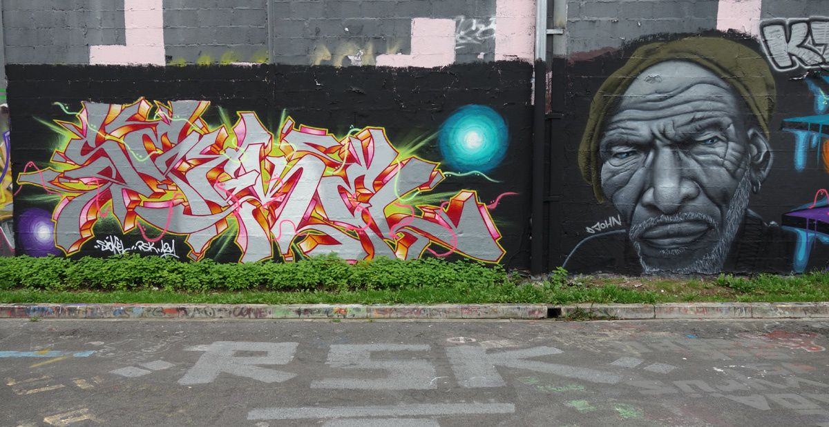 Street Art : Graffitis & Fresques Murales 51454 Reims