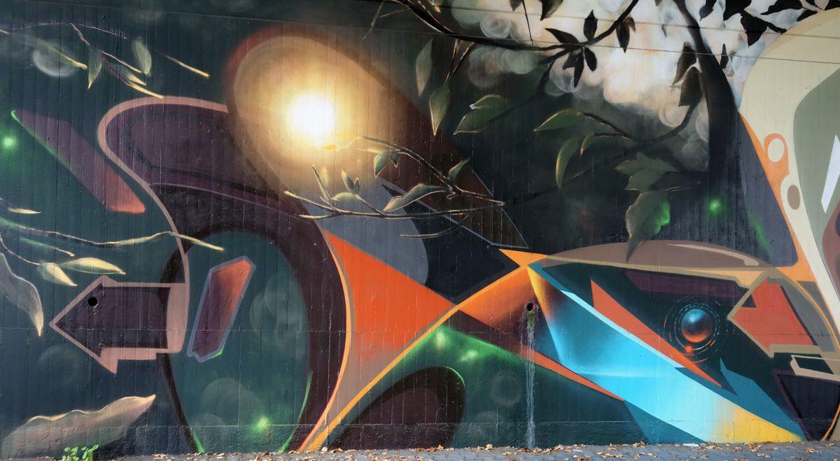 Street Art : Graffitis & Fresques murales 54293 Trier (Germany)