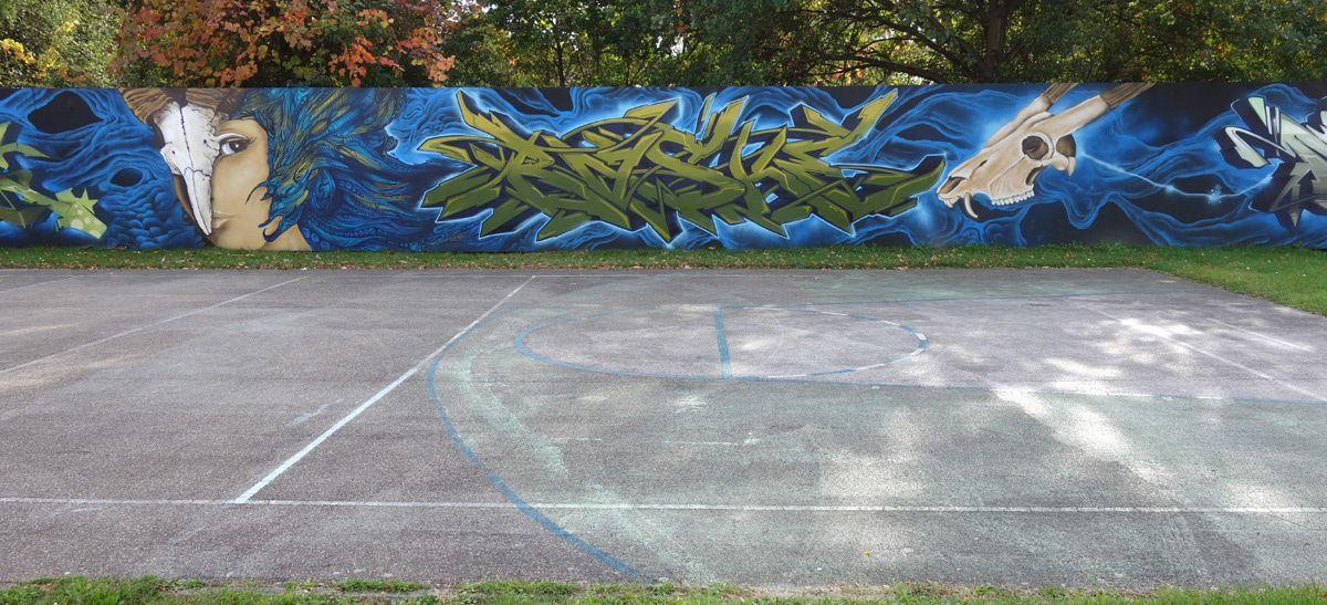 Street Art : Graffitis & Fresques murales 76131 Karlsruhe (Germany)