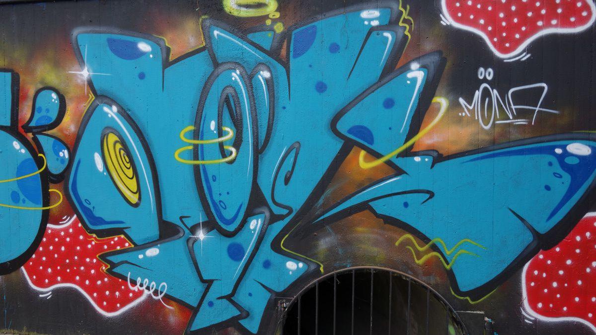 Street Art : Graffitis & Fresques murales 76185 Karlsruhe (Germany)