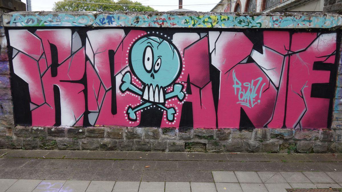 Street Art : Graffitis & Fresques Murales 2342 Luxembourg
