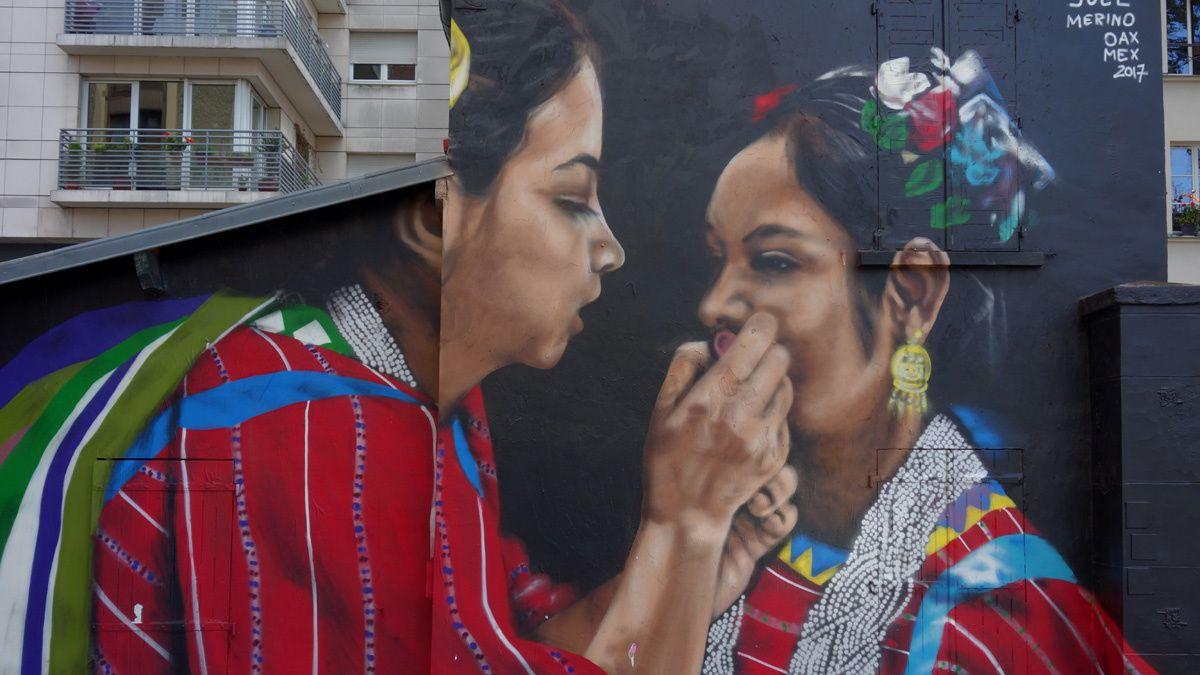 Street Art  Graffitis & Fresques Murales 75019 Paris