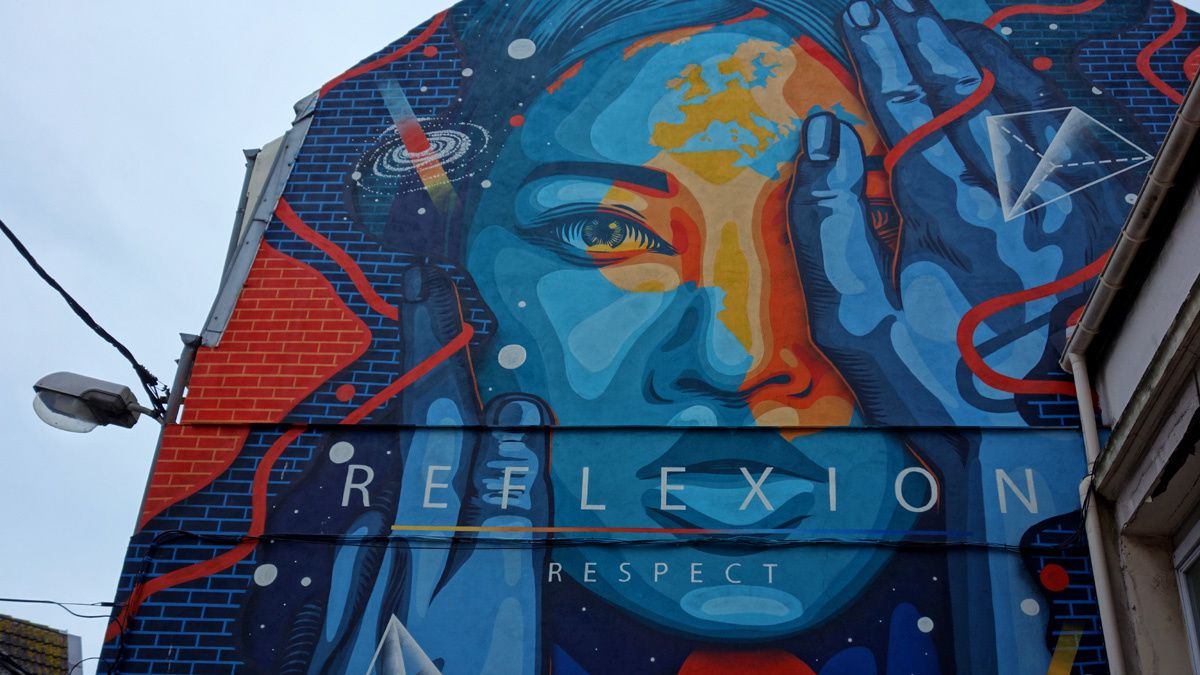 Street Art : Graffitis & Fresques Murales 62160 Boulogne sur mer