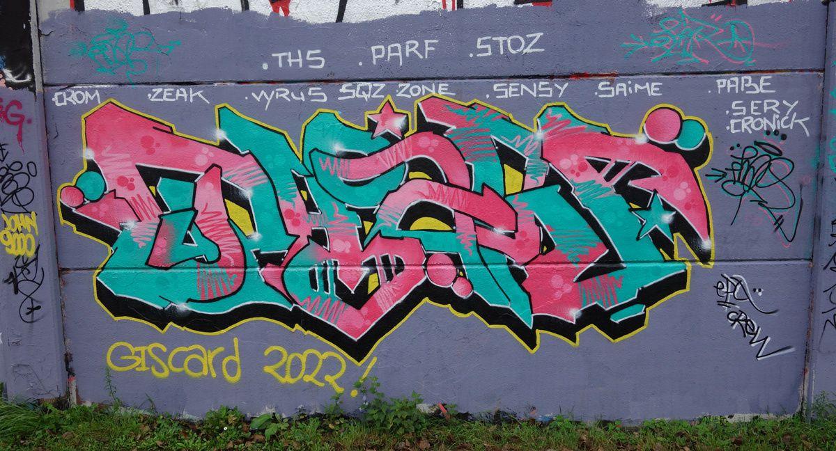 Street Art : Graffitis & Fresques Murales 59155 Coudekerque