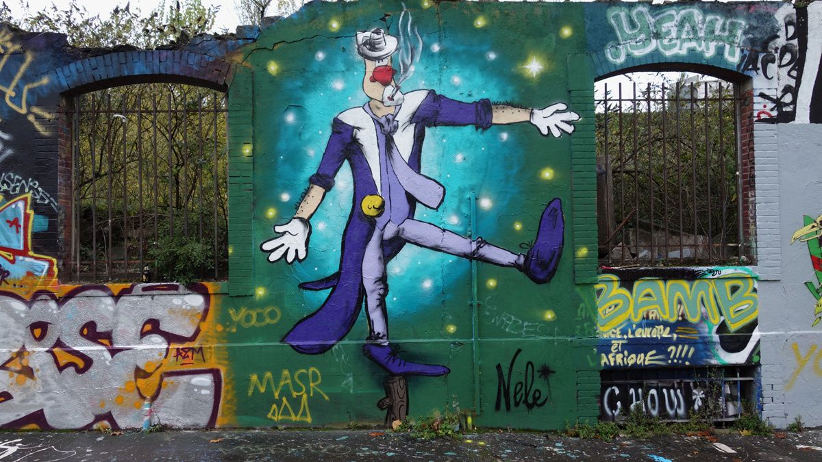 Street Art : Graffitis & Fresques Murales 44100 Nantes