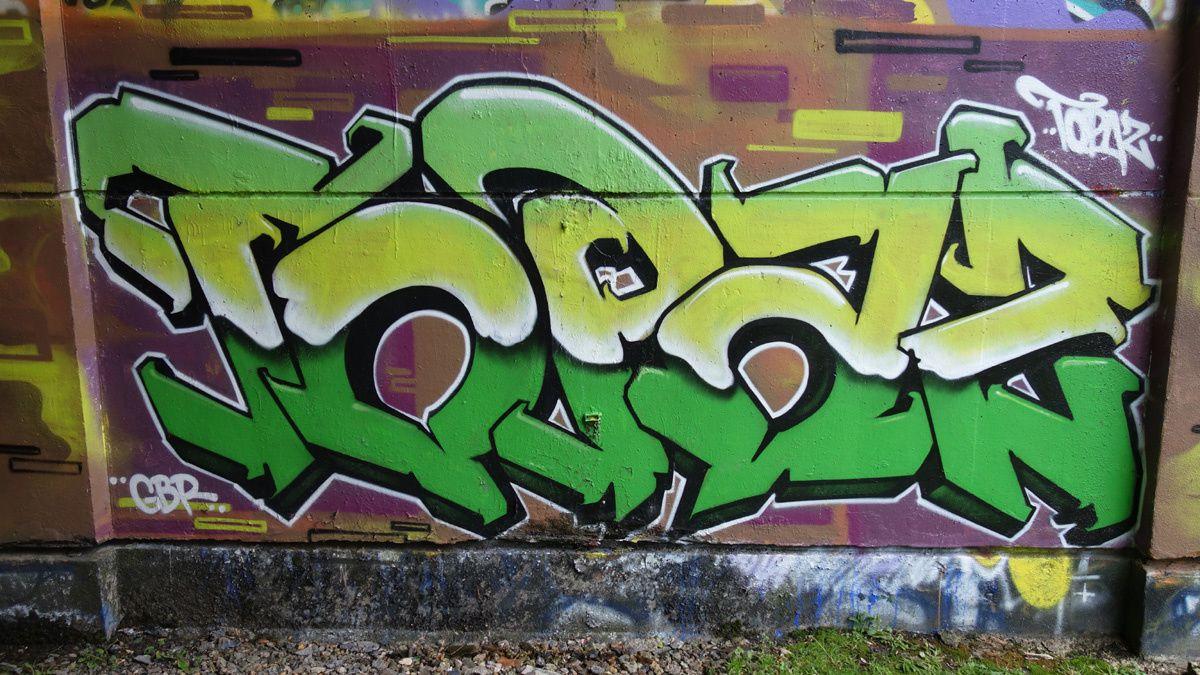 Street Art : Graffitis & Fresques Murales 37000 Tours