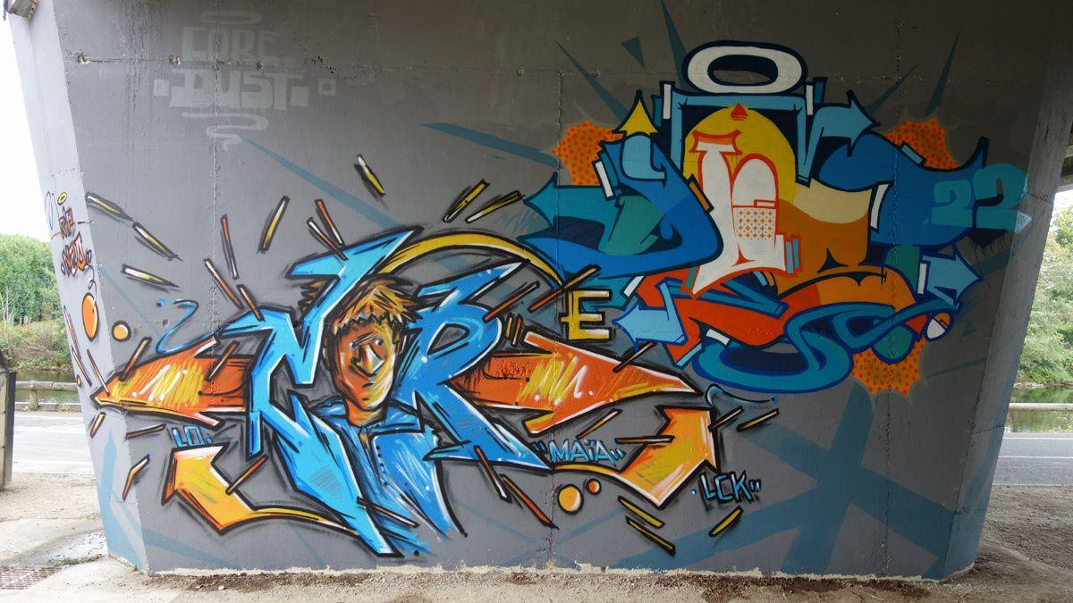 Street Art : Graffitis & Fresques Murales 79191 Niort