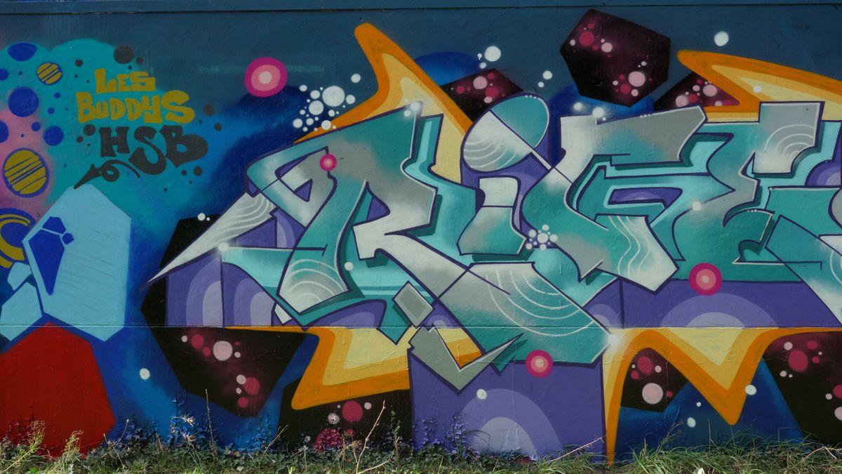 Street Art : Graffitis & Fresques murales 44300 Nantes