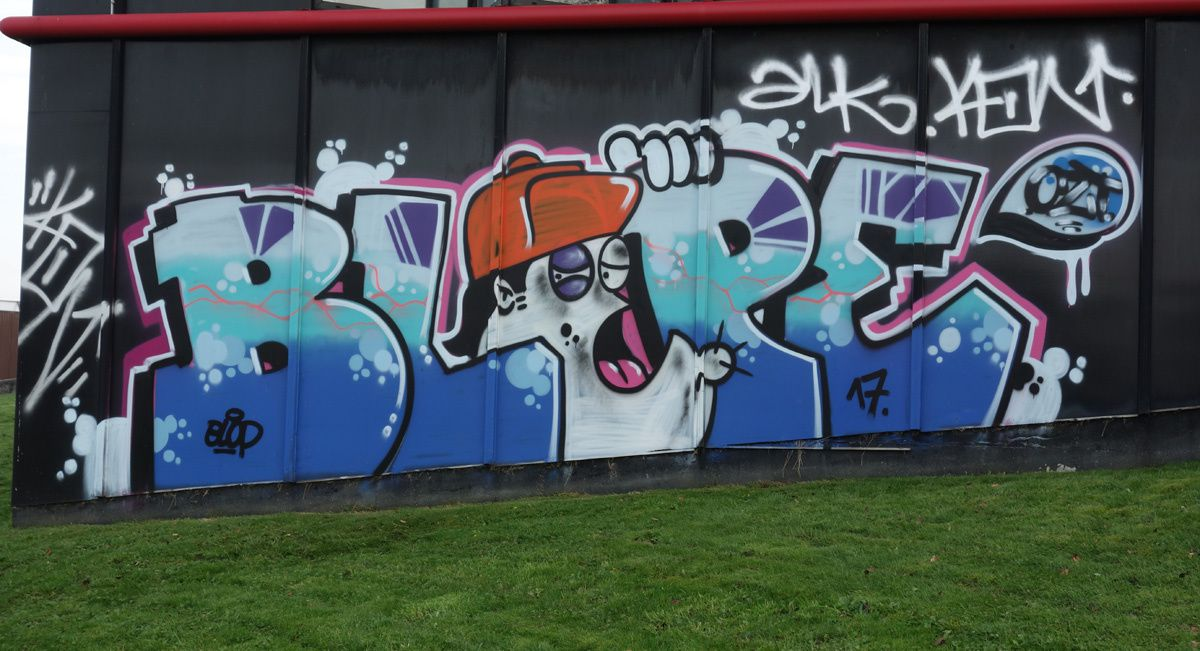 Street Art : Graffitis & Fresques Murales 77121 Collegien