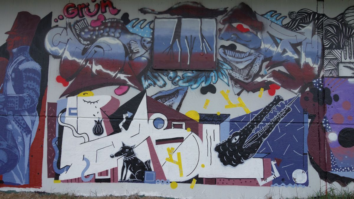 Street Art : Graffitis & Fresques Murales 66119 Saarbrucken (Germany)