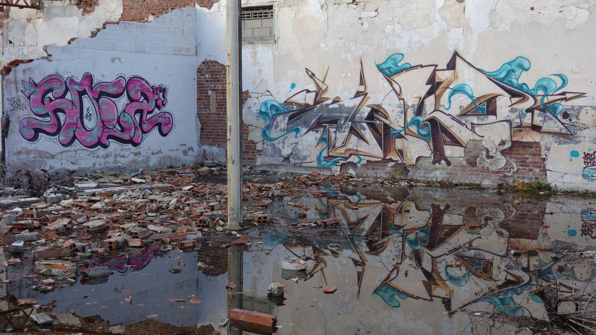 Street Art : Graffitis & Fresques Murales 76239 Elbeuf