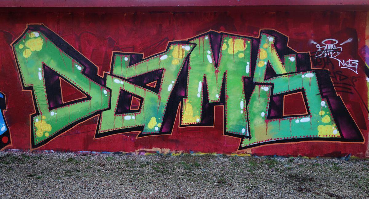 Street Art : Graffitis & Fresques Murales 78362 Mantes la ville